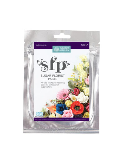 Squires SFP Sugar Florist Paste - Violet/Purple
