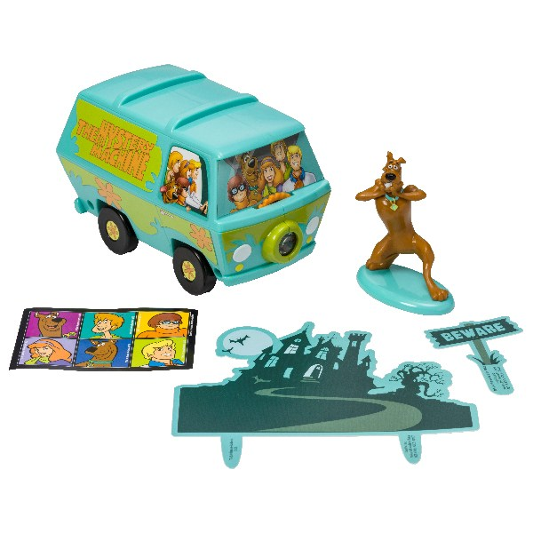 The Mystery Machine & Scooby-Doo Decoration Set