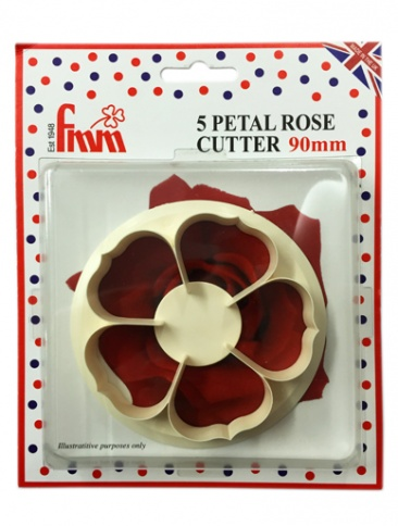 FMM Cutter - 5 Petal Rose 90mm
