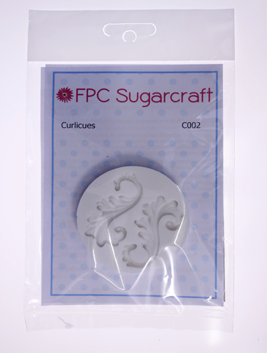 Curlicues Silicone Mould