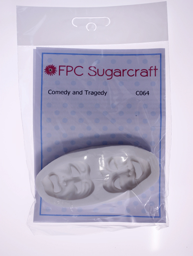 Comedy and Tragedy Masks Silicone Mould