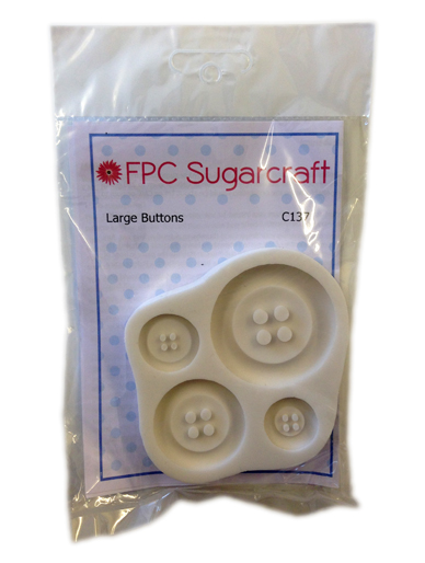 Large Buttons Silicone Mould