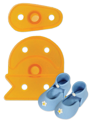 Medium Baby Bootee - Set of 2 Cutters