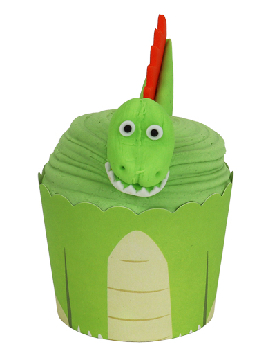 PME Cup Kit Cupcakes & Sugar Decorations - Dinosaur