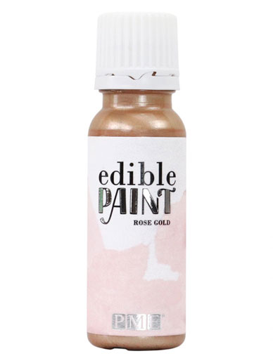 PME Edible Paint 20ml - ROSE GOLD