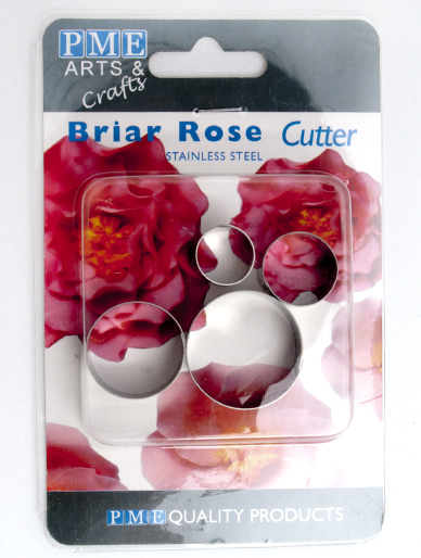 Briar Rose Metal Cutter (Set of 4)
