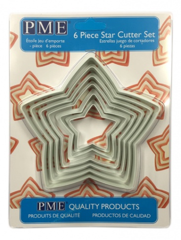 PME Star Cutters Set of 6