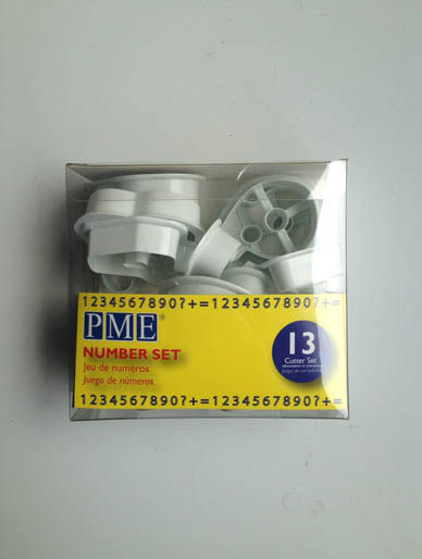 Number Plastic Cutter Set