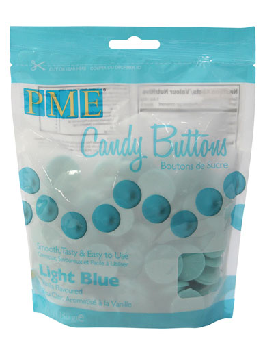 PME Light Blue Candy Buttons 12oz