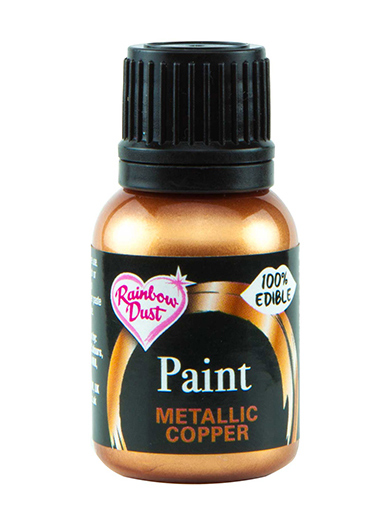 Rainbow Dust Paint - Metallic Copper