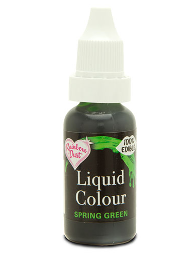 Rainbow Dust Liquid Colour for Airbrushing - Spring Green