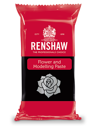 Renshaw FLOWER & MODELLING PASTE - Pre-coloured Dahlia Black