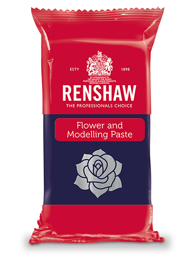 Renshaw Flower Modelling Paste Pre Coloured Forget Me Not Blue