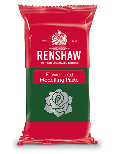 Renshaw FLOWER & MODELLING PASTE - Pre-coloured Leaf Green