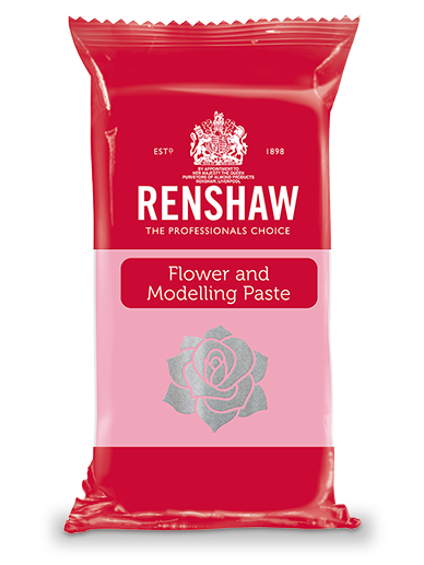 Renshaw FLOWER & MODELLING PASTE - Pre-coloured Rose Pink