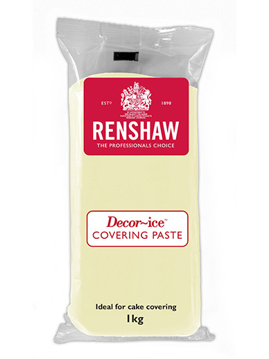 Renshaws Covering Paste - Ivory 1kg Pack