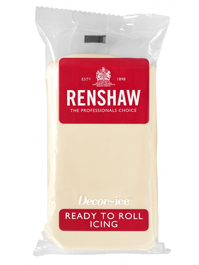 Renshaw White Chocolate Flavour Ready To Roll Icing