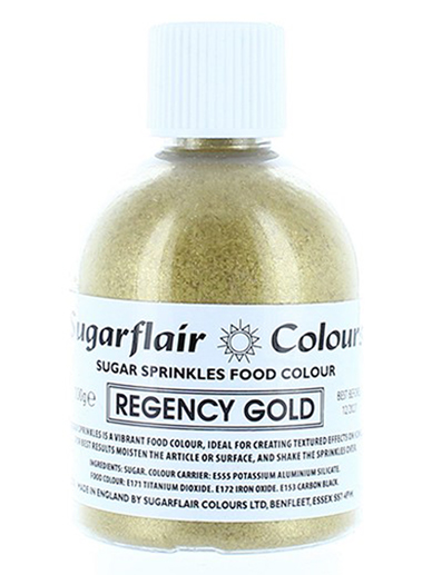Sugarflair Sugar Sprinkles - Rose Gold