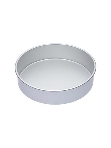Master Class Silver Anodised Round Deep Cake Pan, 30cm (12'')