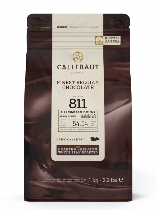 Callebaut Chocolate Callets 1kg - Dark