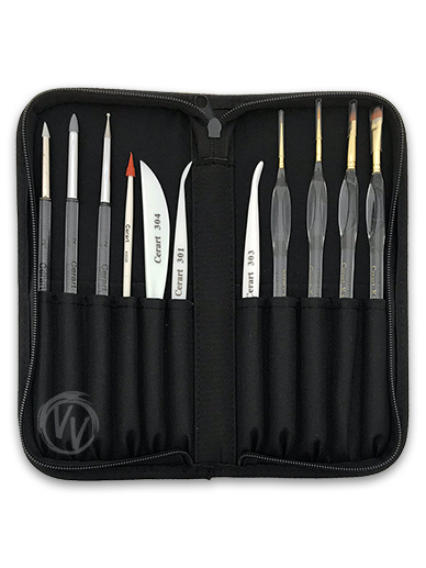 Cerart Modelling Tools Set in Black Case