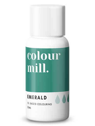 Colour Mill - Oil Based Colour - EMERALD GREEN 20ml