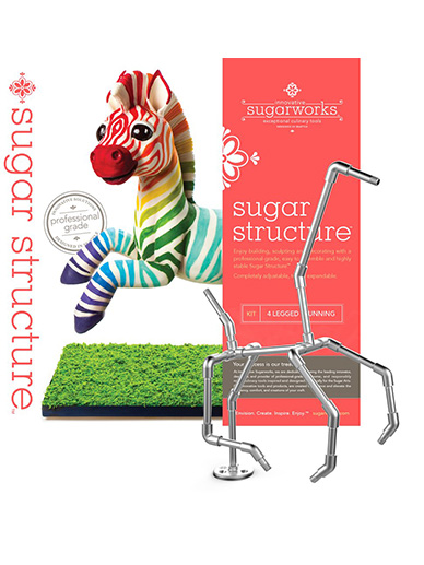 Innovative Sugarworks - Sugar Structure Kit - 4 Legged: Running