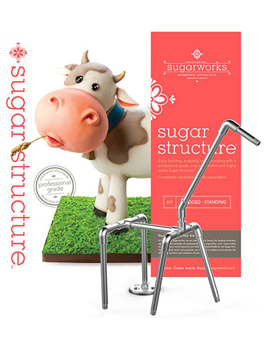 Innovative Sugarworks - Sugar Structure Kit - 4 Legged: Standing