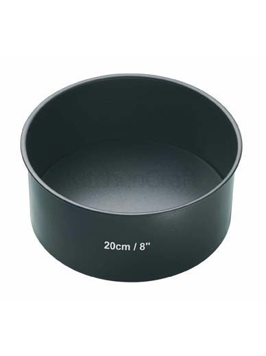 Master Class Non-Stick Loose Base Deep Cake Pan Round 20cm (8'')