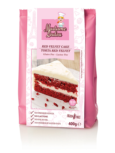 Madame Loulou - Cake mix - Red Velvet 400g