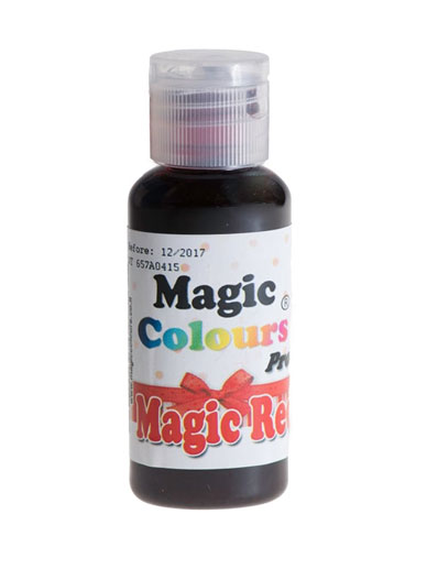 Magic Colours Pro Colouring Gel - Magic Red