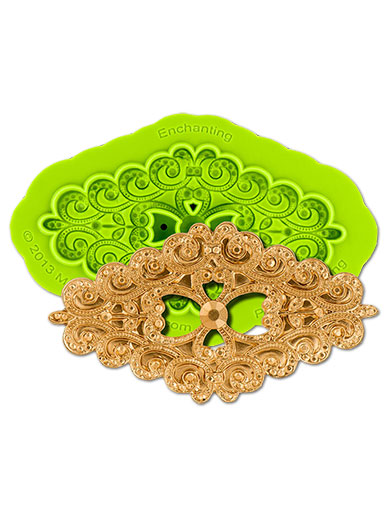 Enchanting Brooch Silicone Mould - Marvelous Molds