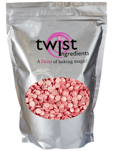 Twist Ingredients 800g BULK BAG - Glimmer Confetti - Pink