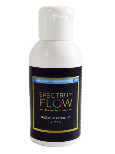 Spectrum Flow - Water Based Airbrush Colour 100ml - Pistachio Green