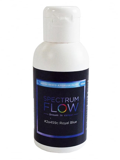 Spectrum Flow - Water Based Airbrush Colour 100ml - Royal Blue