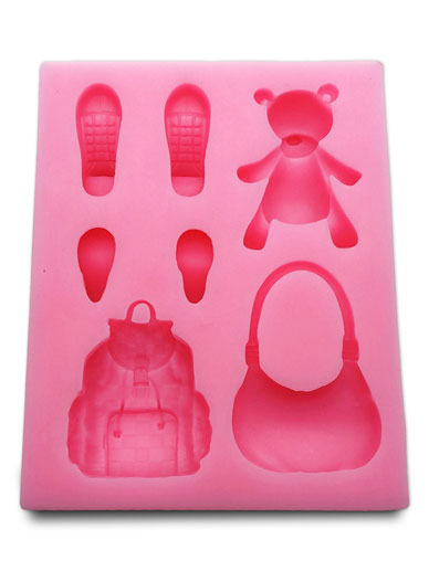 Accessories Mould (Set 2 - Red) - Sweet Revolutions by Domy