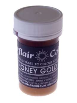Sugarflair Pastel Paste - Honey Gold