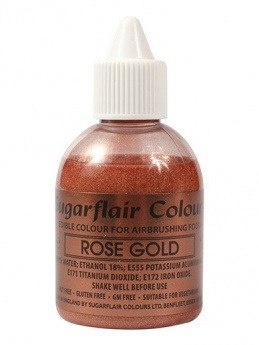 Sugarflair Airbrush Colour - Rose Gold