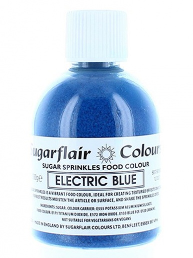 Sugarflair Sugar Sprinkles - Electric Blue