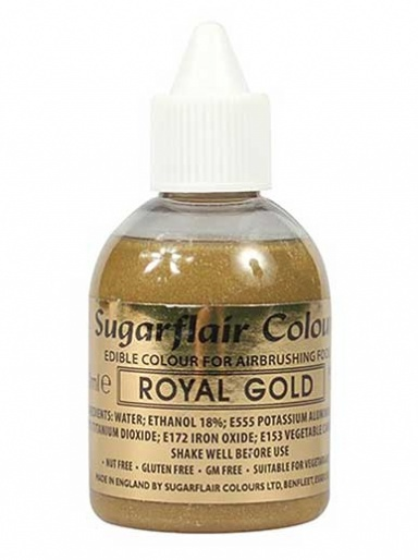 Sugarflair Airbrush Colour - Royal Gold