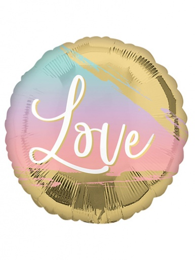 Love Ombre Balloon - 17'' Foil