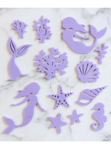 Sweet Stamp - MYSTIC MERMAID - Elements Embossing Set