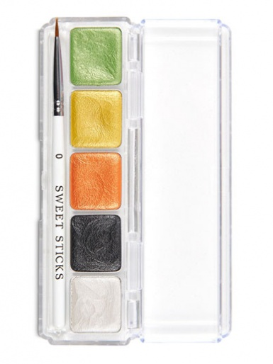 Sweet Sticks Edible Art Water Activated Paint Palette - Jungle Palette