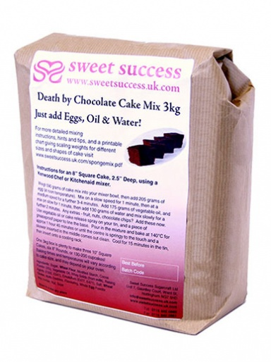 Sweet Success Death by Chocolate Cake Mix 3kg