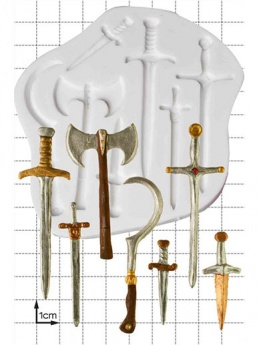 Swords & Weapons Silicone Mould