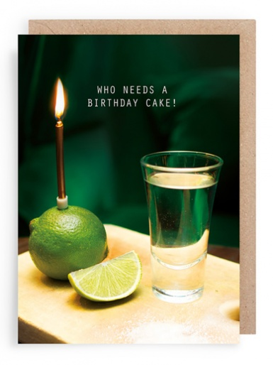 Tequlia Shots - Card by Laura Truby