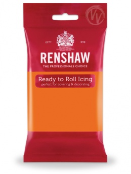Renshaw Tiger Orange Ready To Roll Icing