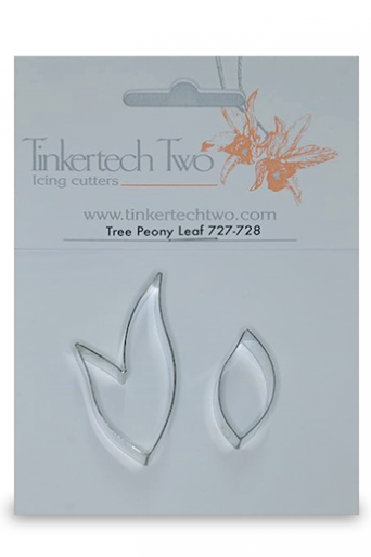 Tinkertech Metal Cutter - Tree Peony Leaf 727-8