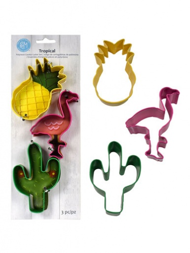 Tropical Cookie Cutter Set of 3