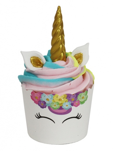 PME Cup Kit Cupcakes & Sugar Decorations - Unicorn Horns and Ears